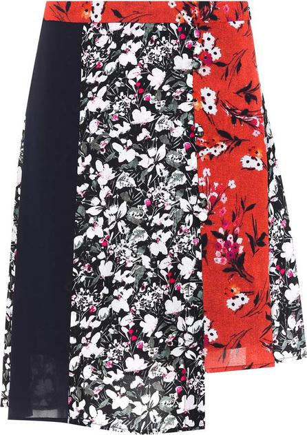 Acne Studios Hamni floral-printed skirt