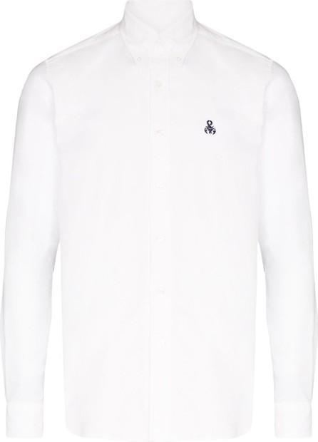 Sophnet. Paisley panel oxford shirt