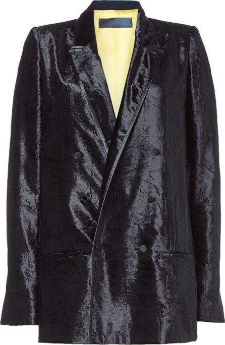 Haider Ackermann Oversized Velvet Blazer