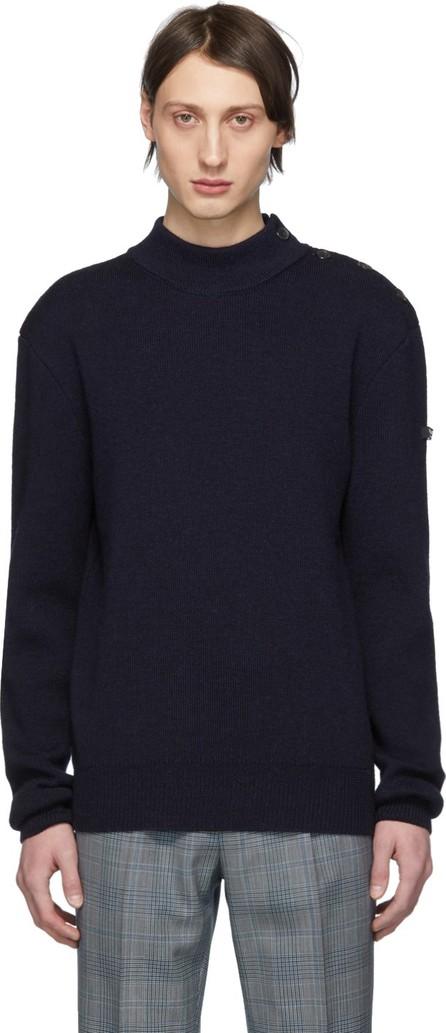 Calvin Klein 205W39NYC Navy Wool Sweater