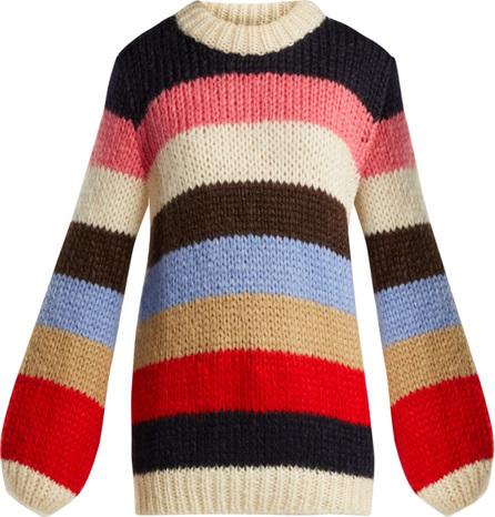 Ganni Oversized striped sweater