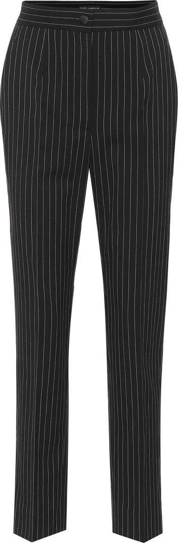 Dolce & Gabbana Striped stretch wool pants
