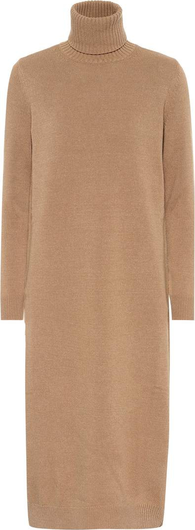 Max Mara Agio wool and cashmere dress