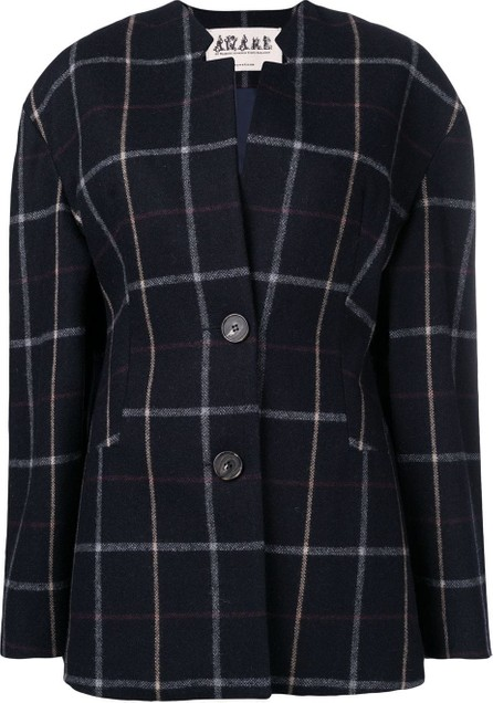 A.W.A.K.E Wide check jacket