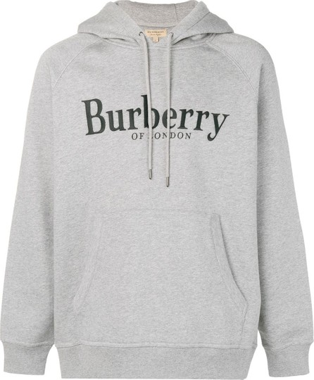 Burberry London England Embroidered logo hoodie