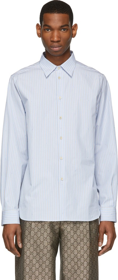 Gucci Blue Small 'G' Shirt