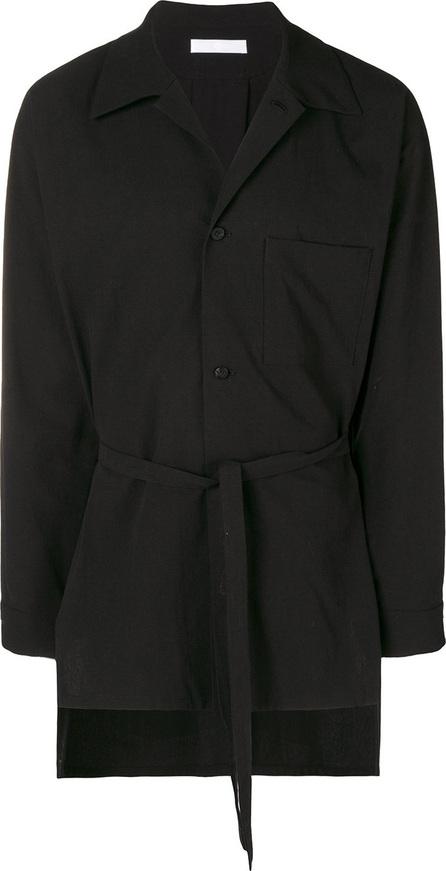 ETHOSENS Belted shirt jacket