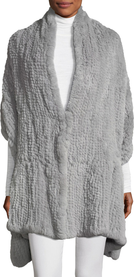 HALSTON HERITAGE Convertible Fur Wrap