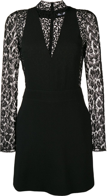 Givenchy Lace leopard-print dress