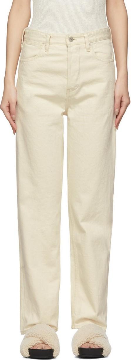 Jil Sander Off-White Selvedge Jeans