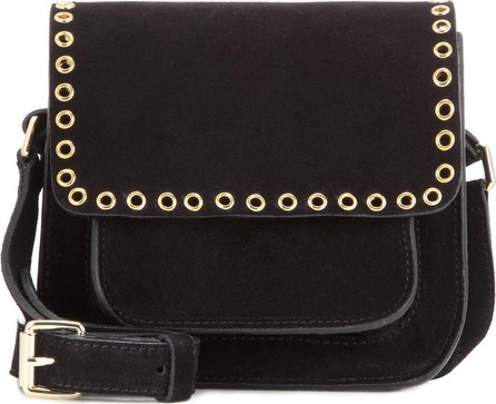 Isabel Marant Etoile Marfa embellished suede crossbody bag