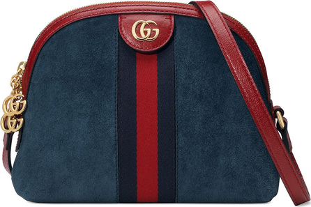 Gucci Ophidia Small Suede Shoulder Bag