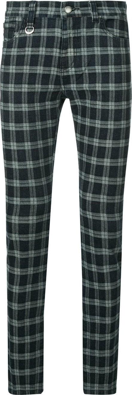 Guild Prime Check skinny trousers