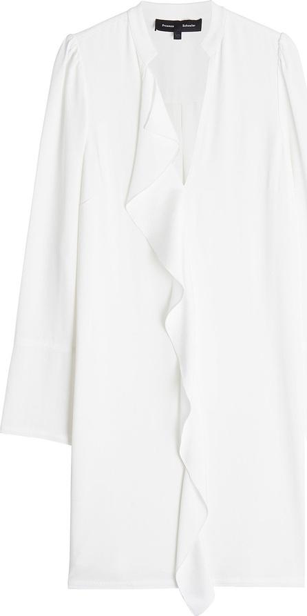 Proenza Schouler Crepe Dress with Ruffle