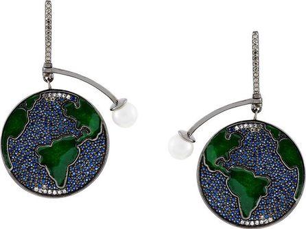 Astley Clarke Earth Drop earrings