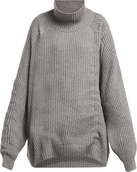 Hillier Bartley Gathered cashmere sweater