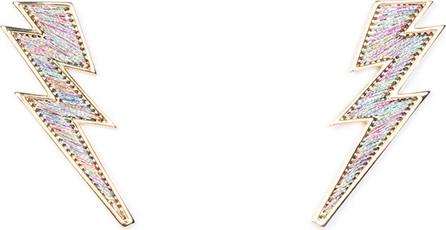 Mignonne Gavigan New York Lightning Bolt Thread Earrings