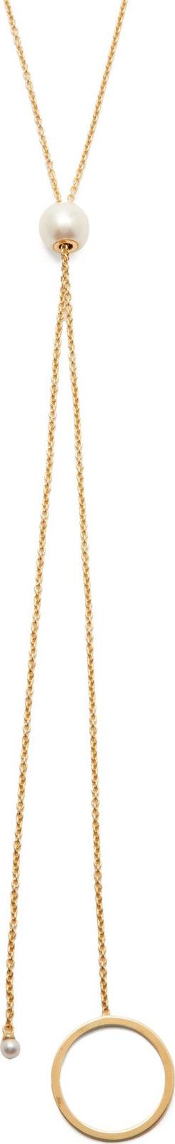Delfina Delettrez Bubble pearl & 18kt gold necklace