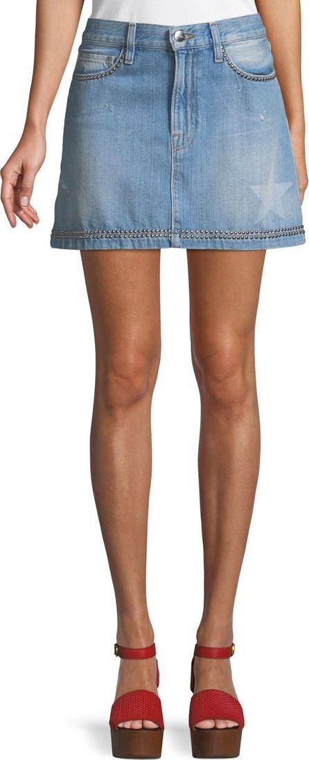 FRAME DENIM Le Mini Studded Denim Skirt