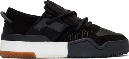 Adidas Originals by Alexander Wang Black AW Bball Lo Boost Sneakers