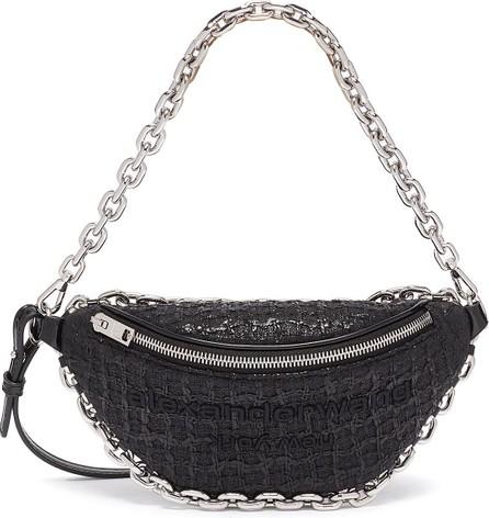 Alexander Wang Attica chain embellished leather belt bag