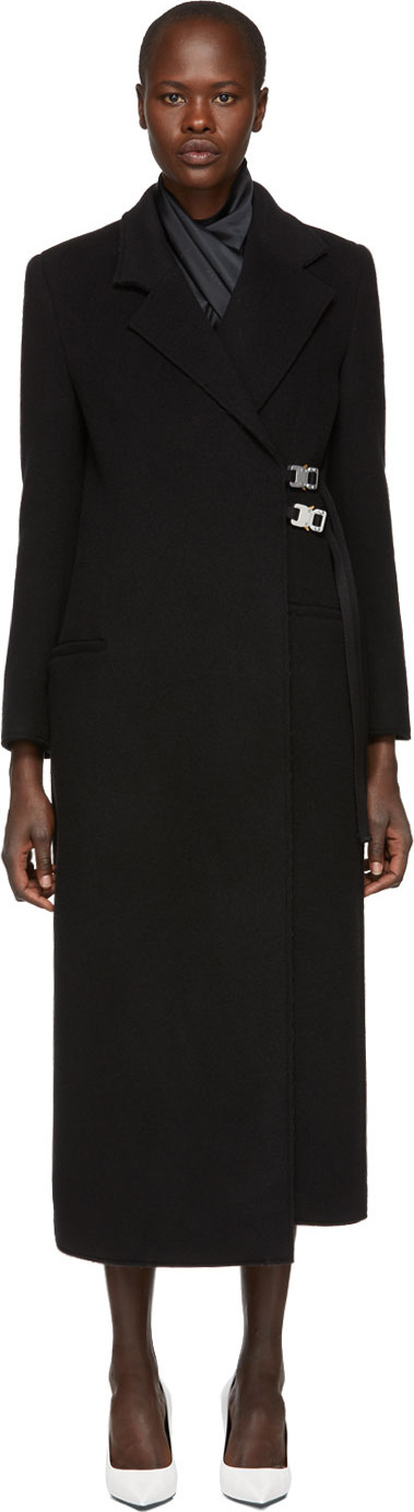 Alyx Black Wool Statesman Coat