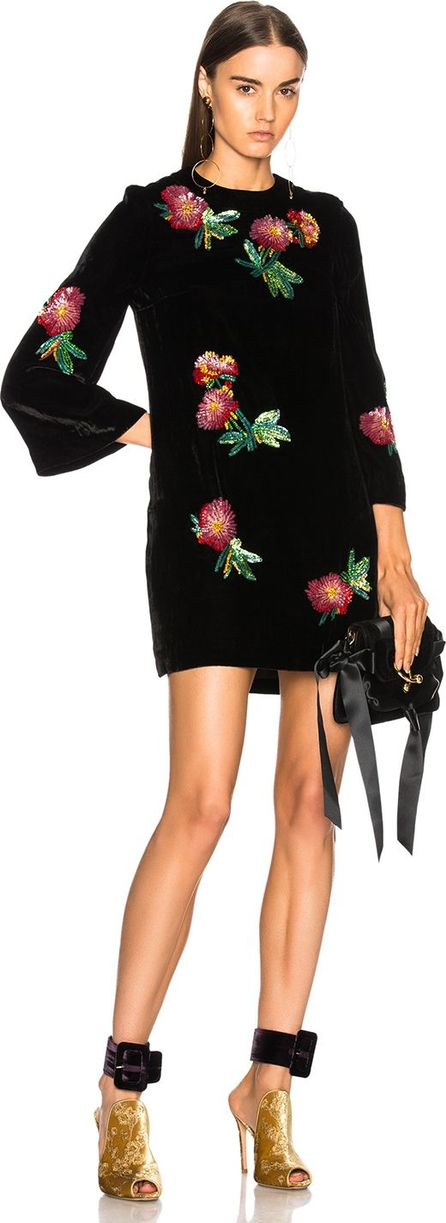 Alexachung Sequin Embroidered Tunic Top
