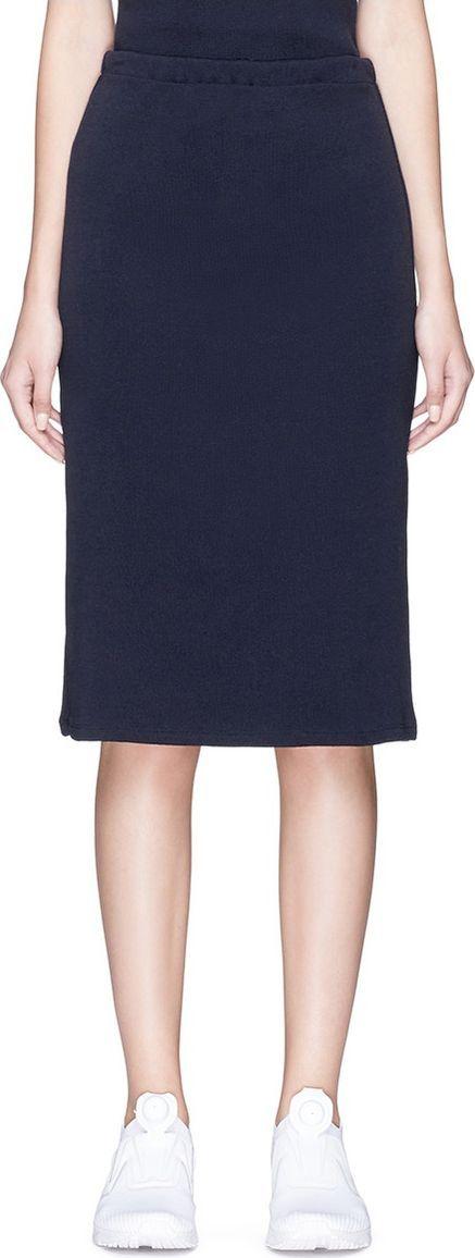 Faustine Steinmetz Merino wool knit pencil skirt