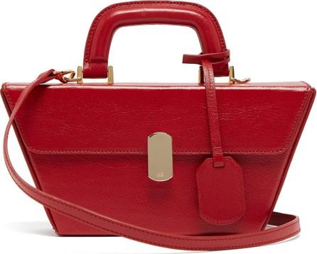 Hillier Bartley Cassette grained-leather bag
