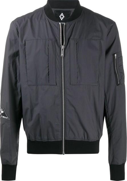 Marcelo Burlon Logo patch bomber jacket