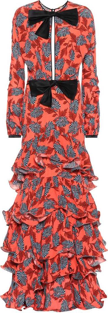 Johanna Ortiz Libro De Esther silk maxi dress
