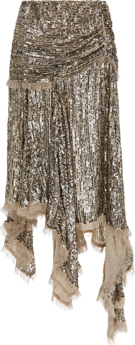 Zimmermann Folly Elusive Asymmetrical Hem Skirt