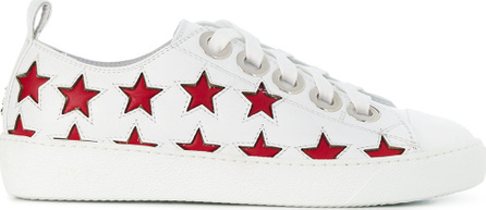 Nº21 Stat embossed lace up sneakers