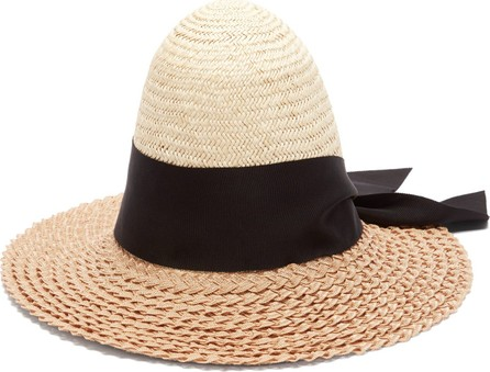 Benoît Missolin Colette palm and pedaline straw hat