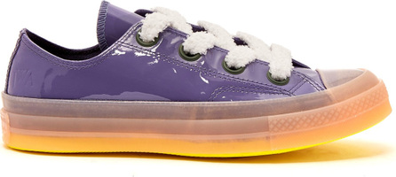 Converse x JW Anderson Chuck 70 patent-leather low-top trainers