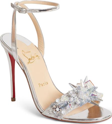 Christian Louboutin Okydok Crystal Embellished Sandal
