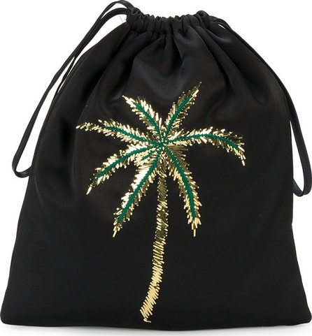 Attico sequined palm tree backpack