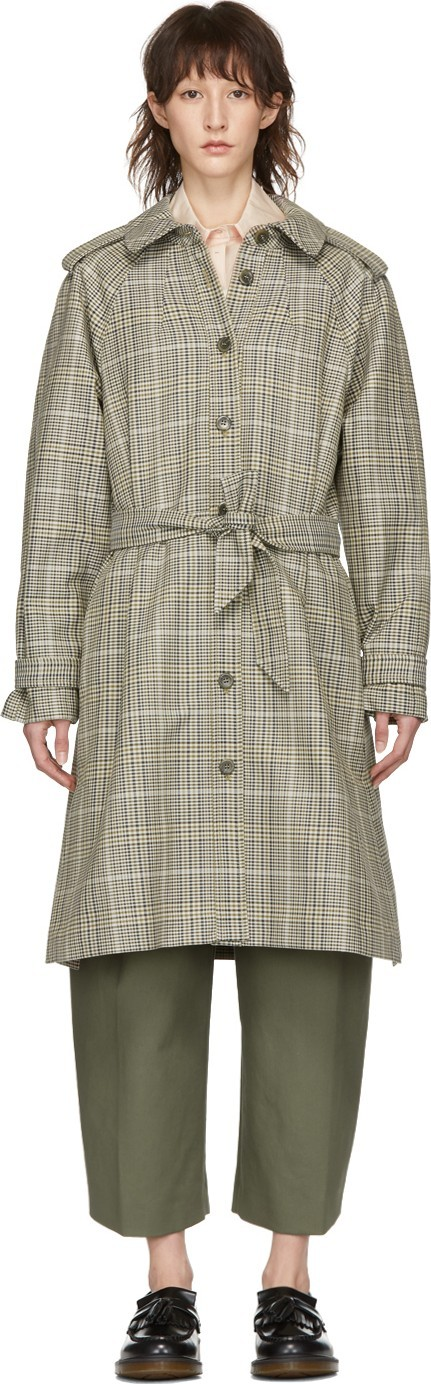 A.P.C. Beige Ava Trench Coat