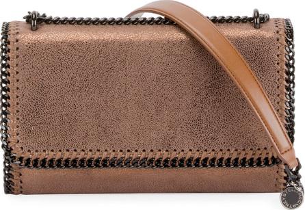 Stella McCartney Falabella Shiny Chamois Chain Shoulder Bag