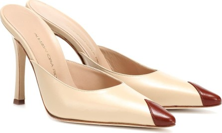 Alessandra Rich Leather mules