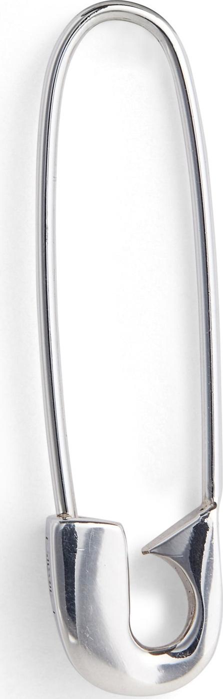 Lauren Klassen Silver Safety Pin Earring