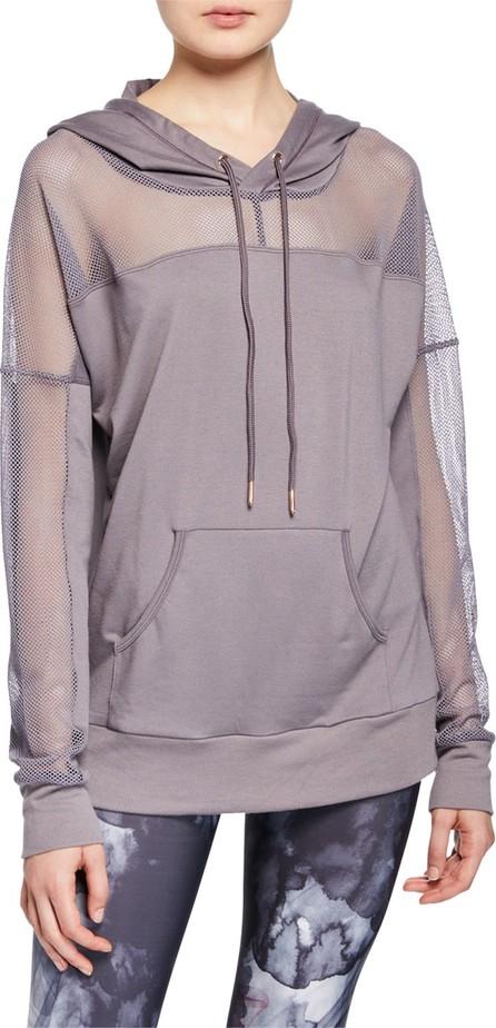 ONZIE Mesh Long-Sleeve Pullover Hoodie