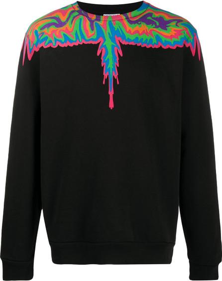 Marcelo Burlon Psychedelic Wings-print sweatshirt