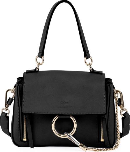 Chloe Faye Daye Mini Leather/Suede Shoulder Bag