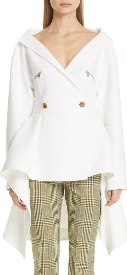 ADEAM Twill Military Wrap Jacket