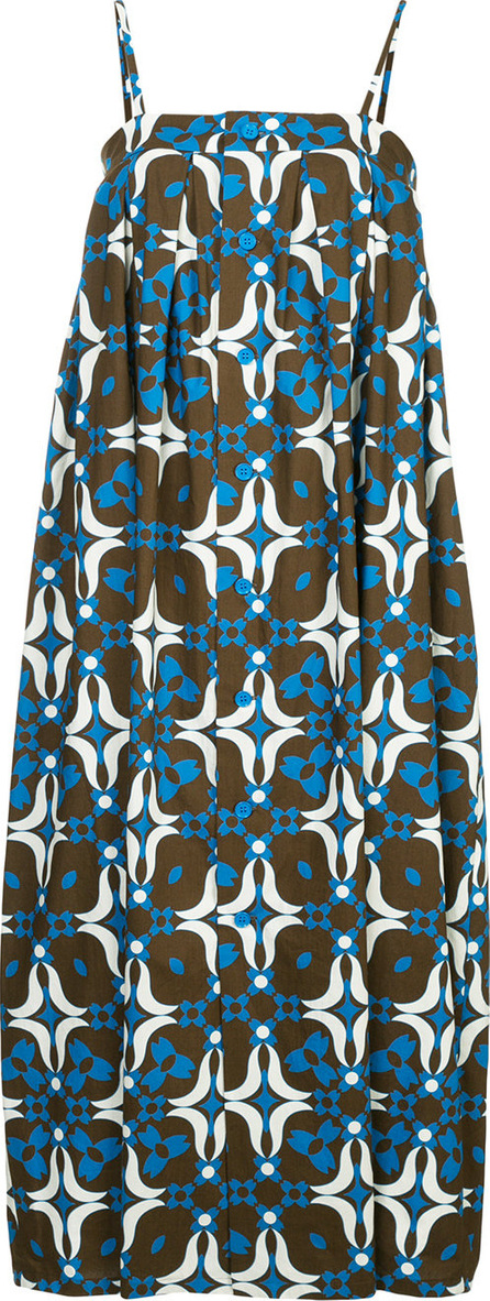 Astraet Printed oversized cami dress
