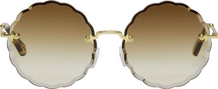 Chloe Gold Rosie Sunglasses