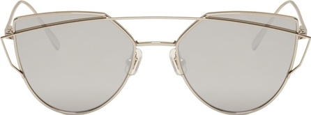 Gentle Monster Silver Love Punch Sunglasses