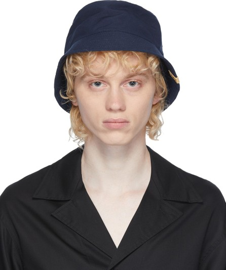 Visvim Navy Dome Flap Hat