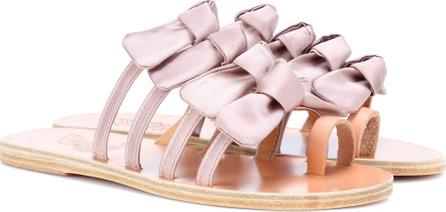 Ancient Greek Sandals Hara satin slides